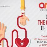 ARA Hotel Gading Serpong Adakan Aksi Donor Darah