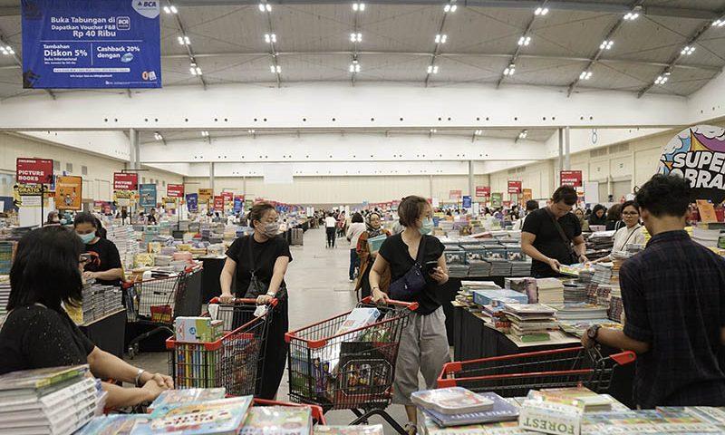 Beragam Kegiatan dan Diskon di Bazar Buku Online BBW