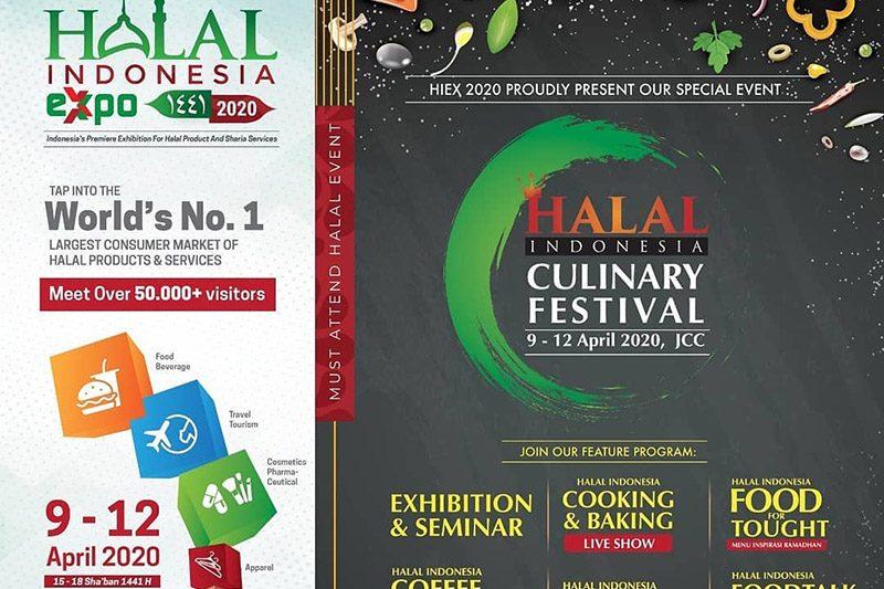 Halal Indonesia Expo 2020 Resmi Diundur