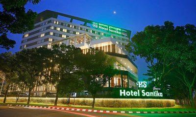 Menginap di Hotel Santika Hanya Rp39.000