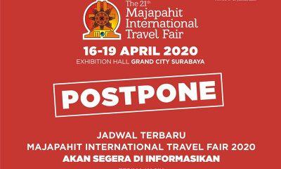 Pameran Majapahit Travel Fair 2020 Ditunda