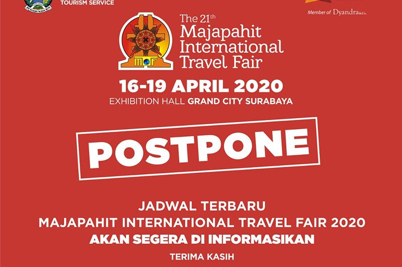 Majapahit Travel Fair 2020 ditunda