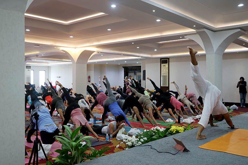 The Papandayan Yoga Day
