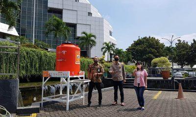 Panorama Group Sediakan Fasilitas Cuci Tangan di Kemenparekraf