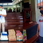 Bali Dynasty Resort Beri Sumbangan Bahan Pokok dan Masker