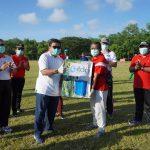 Tangkal COVID-19, ITDC Disinfektan Desa Penyangga Nusa Dua