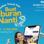 Santika Online Travel Fair Buat Liburan Nanti