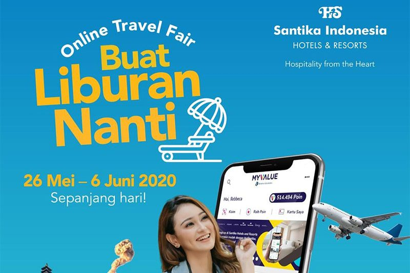 Santika Online Travel Fair