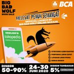 Bazar Buku Big Bad Wolf Hadir Kembali Secara Online