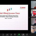PT Datascrip dan Canon Gelar Halal Bihalal Virtual