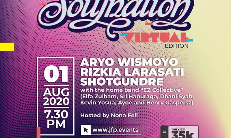 Soulnation Virtual Edition Dua Akan Tayang Awal Agustus 2020