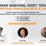 PNJ Selenggarakan Seminar Nasional Riset Terapan Administrasi Bisnis dan MICE