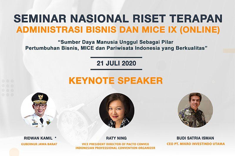 PNJ Selenggarakan Seminar Nasional Riset Terapan ...