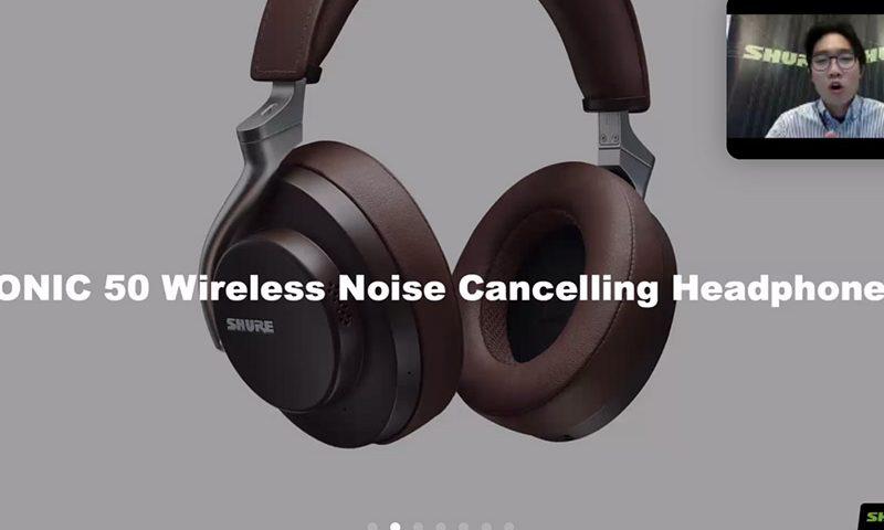 Shure Luncurkan Headphone Nirkabel Pertama dengan Tiga Mode Unik