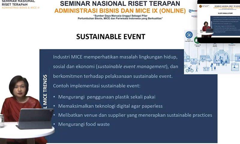 Sustainable Event Menjadi Tren MICE Global