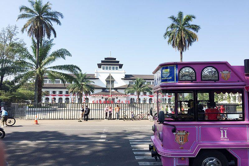 Pariwisata Gedung Sate di Bandung