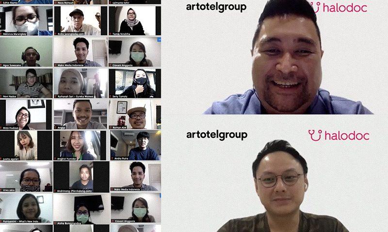 ARTOTEL Group Luncurkan Program Khusus Bersama Halodoc