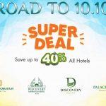 Discovery Super Deal Berikan Promo Hingga 40 Persen