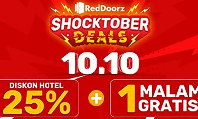 Promo SHOCKTOBER 10.10 dari RedDoorz