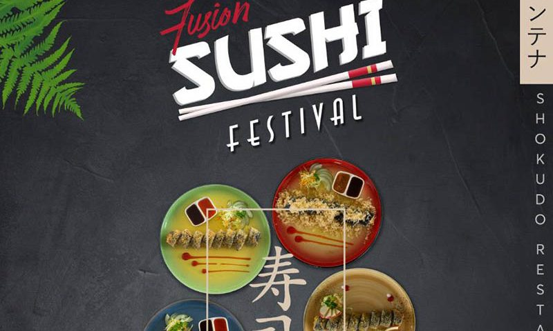 Shokudo Restaurant Luncurkan Sushi Dengan Cita Rasa Nusantara