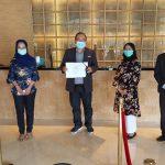 Sertifikasi CHSE THE 1O1 Jakarta Sedayu Darmawangsa Memuaskan