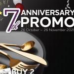 Promo Buy 2 Get 1 Free dari Mint & Pepper Restaurant