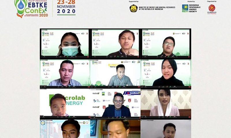 EBTKE Virtual Conference and Exhibition Ditutup Dengan Virtual Field Trip