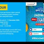 Nikmati Diskon Lebih Besar di Traveloka EPIC Hour
