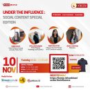 Masuki Dunia Influencer Lewat Under The Influence: Social Content Special Edition