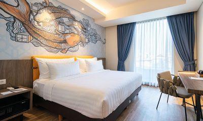 Ada Jerapah di Luminor Hotel Kota untuk Menemani Liburan Akhir Tahun