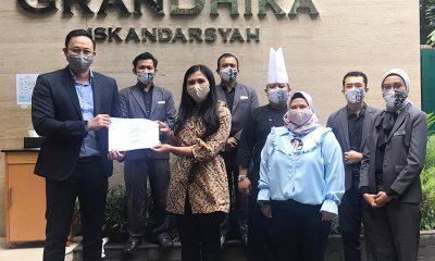 GranDhika Iskandarsyah Jakarta Terima Sertifikasi CHSE dengan Nilai 100 Persen