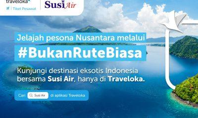 Tiket Susi Air Kini Bisa Dipesan di Traveloka