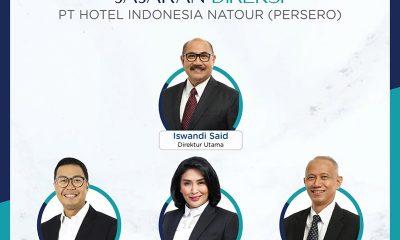 Direksi Baru PT Hotel Indonesia Natour (Persero)