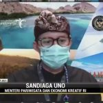 Sandiaga Uno: Tahun 2021 Jadi Tahun Kebangkitan Pariwisata