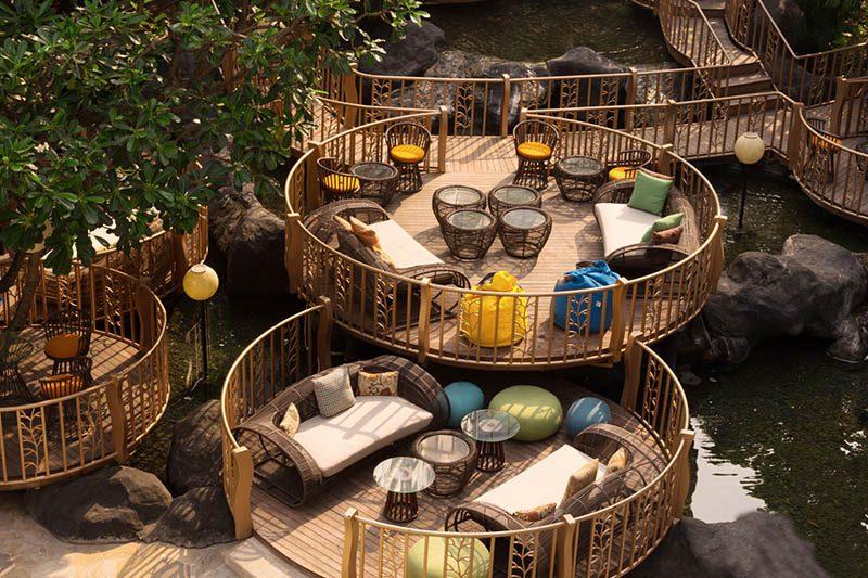 JimBARan Lounge Outdoor AYANA Midplaza Jakarta