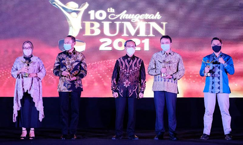 "PT Hotel Indonesia Natour Raih Penghargaan ""Special Service Excellent"""
