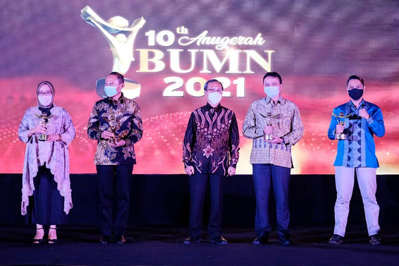 PT Hotel Indonesia Natour Raih Penghargaan Special Service Excellent