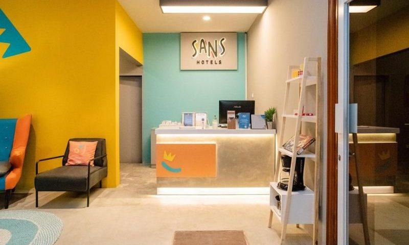 Baru Buka, Sans Hotel Ditargetkan Mendapat Okupansi 60 Persen