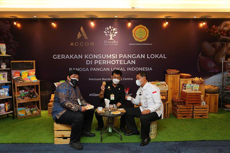 Gerakan pangan lokal Accor-Kementerian pertanian