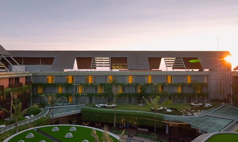 Tauzia Hadirkan Yello Hotel Baru di Bali