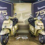 Piaggio Undang Para Pencinta Vespa Ke Diler Untuk Rayakan Ulang Tahun Ke-75