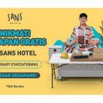 Sans Hotel Berikan Sarapan Gratis Bagi Tamunya