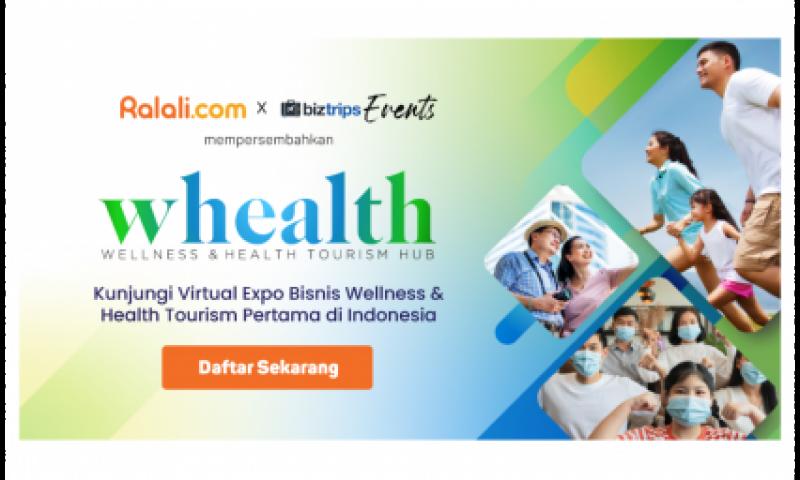 Pameran Virtual Kesehatan dan Wisata Medis, RXPO: WHEALTH 2021, Hadirkan Ratusan Peserta